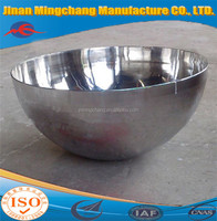 Hemispherical Head With Inside Mirror Polished For suitable for food processing or sanitary equipment