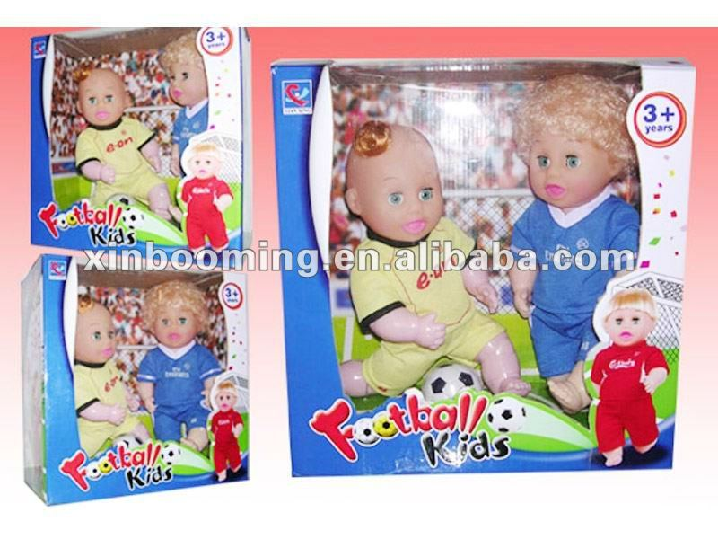 12 inch football player dolls with IC