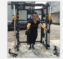 Guangzhou Yijin <span class=keywords><strong>Attrezzature</strong></span> <span class=keywords><strong>Sportive</strong></span> Co. Ltd Professionale <span class=keywords><strong>attrezzature</strong></span> per il fitness AMA-8802A smith macchina multi gym con cavo pulegge