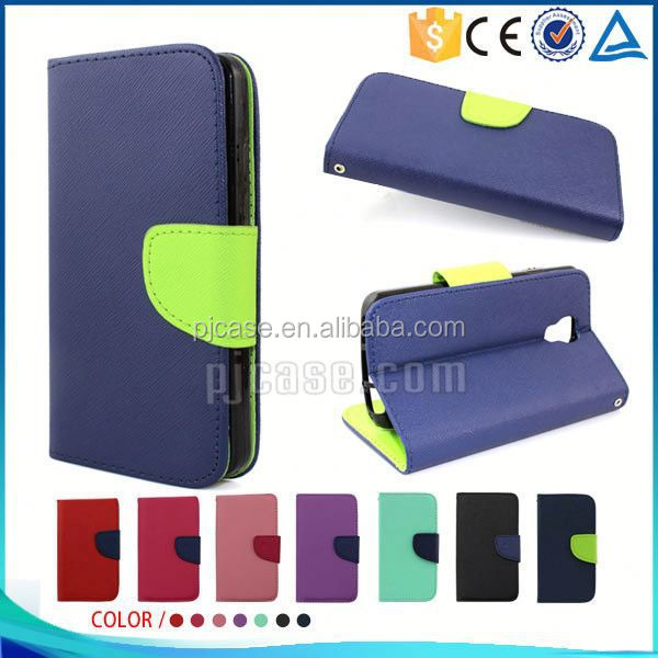 Hot sale Mixed colors pu leather flip cover case for Allview X2 Soul