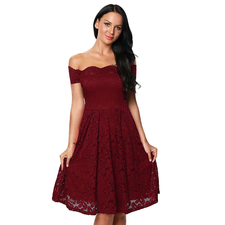 Women's Clothing Provided 2019 Womens Summer Dresses Sexy Gauze Patchwork Slim Dress With Lace Sleeve For Girl Black A-line Dresses Let Our Commodities Go To The World