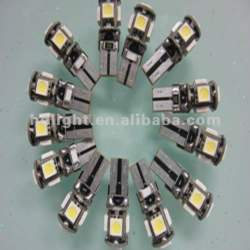 automobile accessory canbus light t10 5050 5smd,error free