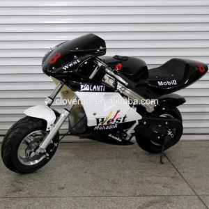 Used Petrol Powered Mini Motocross 49CC Pocket Bike for Children