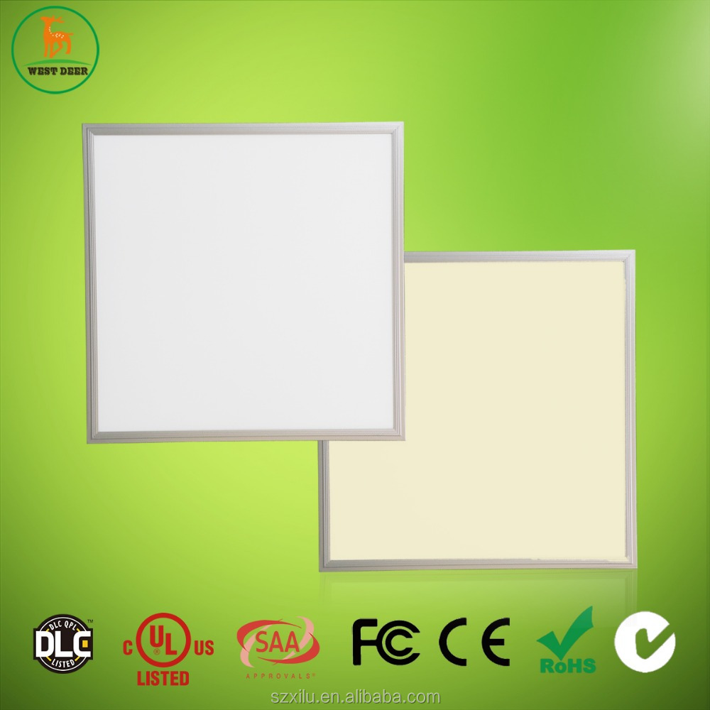 604*604 Ultra thin LED Kelvin Variable panel light with DLC UL CUL listed