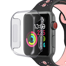 Voor Apple Horloge Case Series 4 Soft TPU Case Compatibel met iWatch 4 Vervanging Siliconen Case Voor Apple Horloge 4