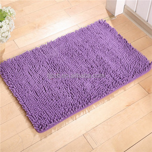 wholesale OEM service customized chenille door mat