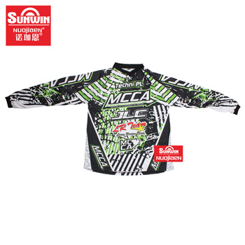 men's sublimation printing Sports Team motocross racing clothing