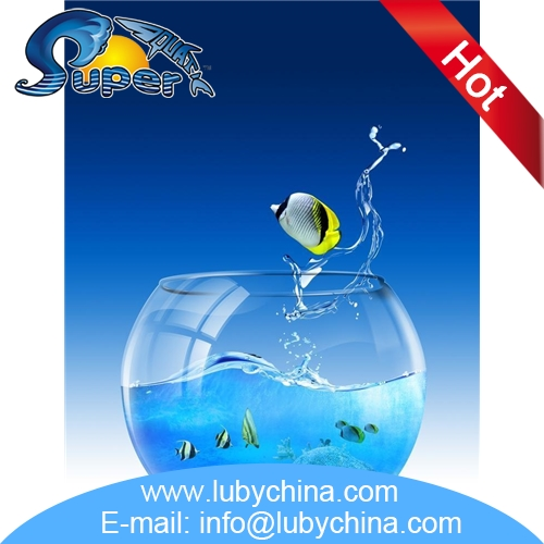 Multifunctional large glass fish bowl with wholesale price for Fish bowl price