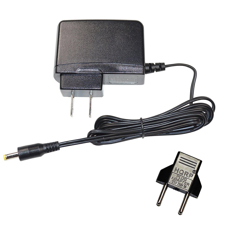 HQRP AC Power Adapter for Kodak M380, M381, Z1015 IS, Z950, Z980 Digital Camera Zx1 Pocket Video Camera - (incl. USA Plug & Euro Adapter) (Wall Style)
