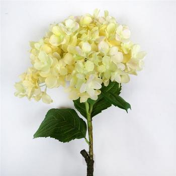 33 yellow hydrangea silk flowersyellow silk flowersartificial 33quot yellow hydrangea silk flowers yellow silk flowers artificial silk flowers mightylinksfo