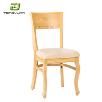 Modern Design Hot Sale Wooden Restaurant Chairs Used For Sale