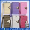 For iPhone 6 Flip Leather Cover, Card Slots Wallet Case for iPhone 5S 5C 6 6 Plus With Strap