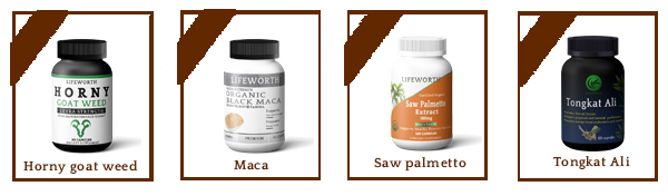 Lifeworth herbal sexual maca root capsules