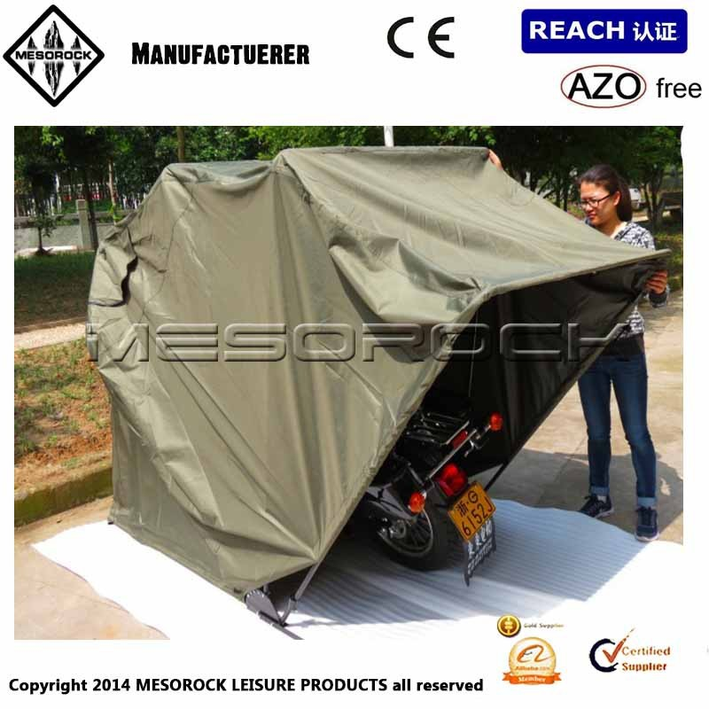 Motorcycle Shelter Storage Tent Outdoor Bike Cover Portable