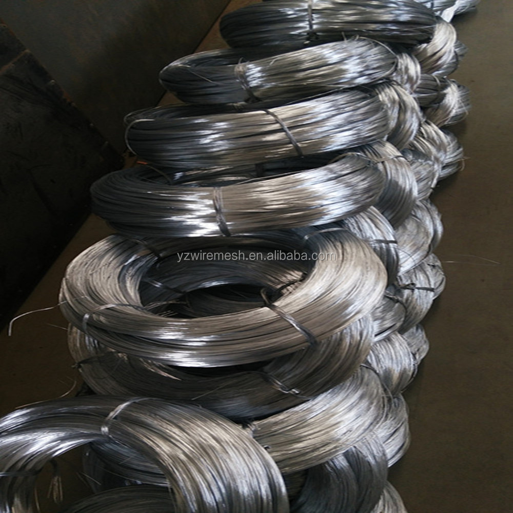 Hot dipped galvanized steel wire / galvanized iron wire / binding wire