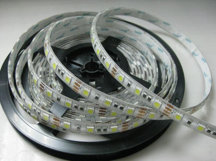 High Lumens Output 5050 Led Strip 14.4w 12v 60leds/m Dimmable Led ...