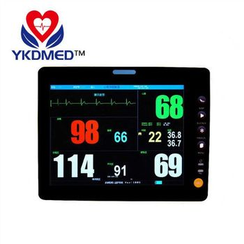 New 8 inch portable patient monitor, ICU, CCU, operating theaters, emergency centers use, ETCO2 available