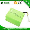 NI-MH 4/3A Type 7.2V 3200mAh China Factory New Design Robot Vacuum Cleaner Battery