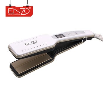 ENZO Factory hot sale new style fashionable salon pro MCH heater styler flat iron best hair straightener brand in India