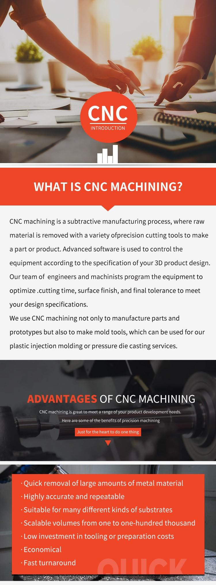 3d rapid prototype cnc metal parts in Guangzhou