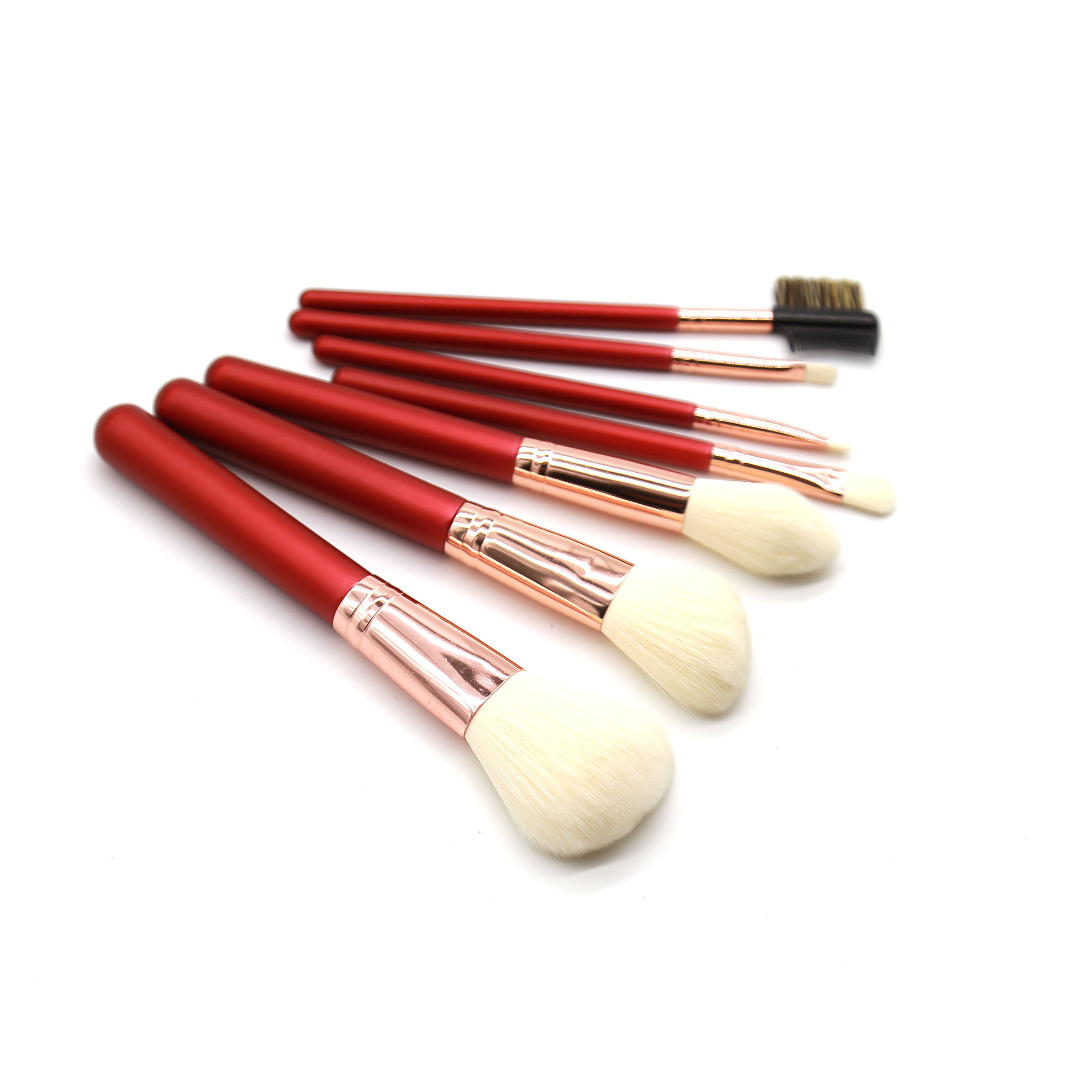 OEM private label professionelle make-up pinsel set weiß personalisierte bilden pinsel set
