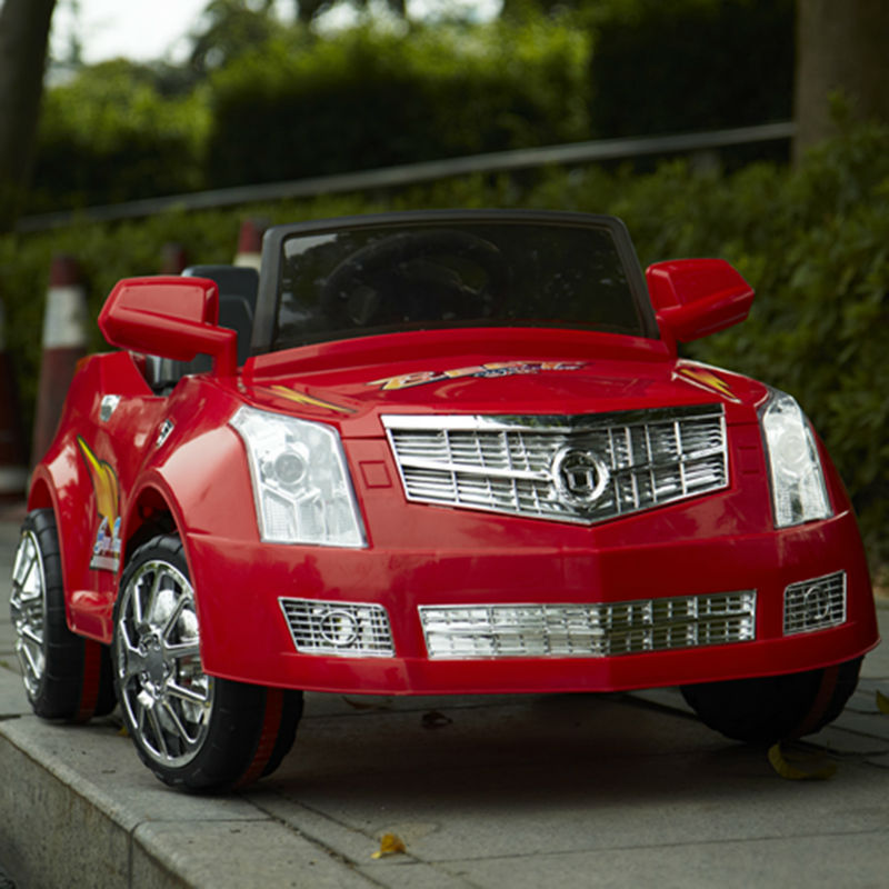 Authorised Children rc ride on Cadillac CTS toy car with double motors and speed control