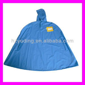 Polyester/EVA/pvc playing pattern rain cape child