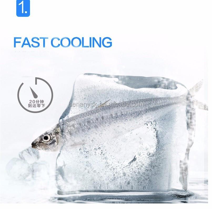 IS-YT-E-16P -18-10degree 20L DC 12V/24V car refrigerator Mini fridge freezer for car
