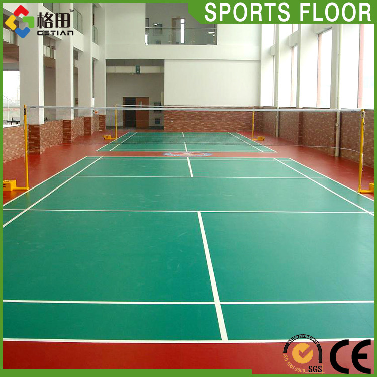 Factory Oem Rubber Badminton Sports Floor Mat Not Pvc