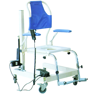 Rehabilitation training device Electric lifting toilet chair