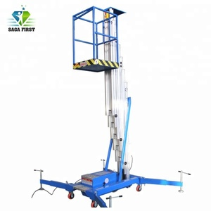 Electric Hydraulic Mobile One Person Lift Platform