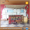 Antique Style Mall Fast Food Kiosk