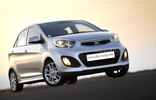 Shock Prices Plastic Head Fog Lamp Picanto 2012 Grill Light