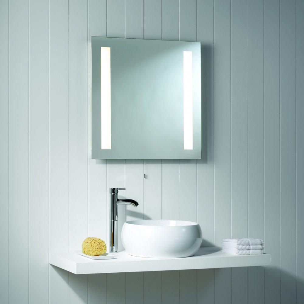 Bathroom Walls Led Square Mirror Light