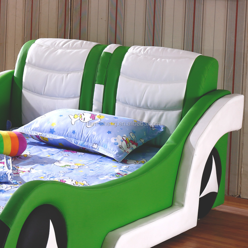 Wooden car beds for boys - Fansheng Children Lovely Wooden Single Car Shape Bed Quite Kids Car Bed