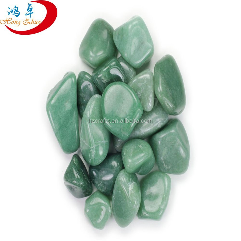 Green Aventurine Tumbled Semiprecious Stones For Gifts