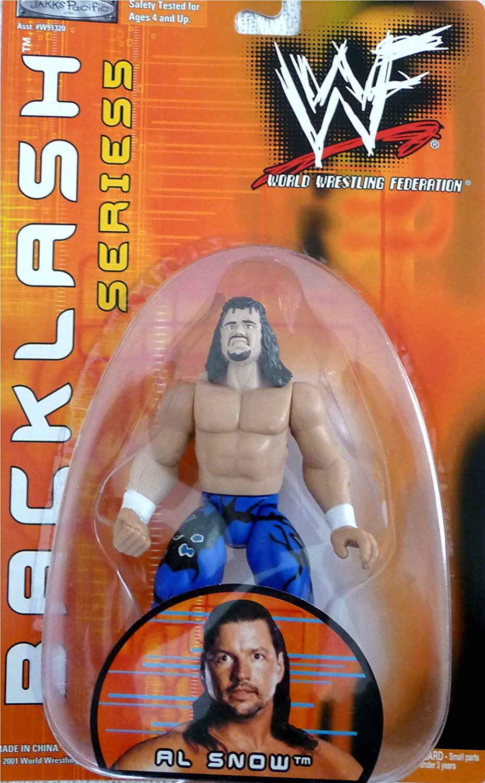 AL SNOW - WWE WWF Wrestling Exclusive Backlash Series 5 Figure Toy by Jakks Pacific