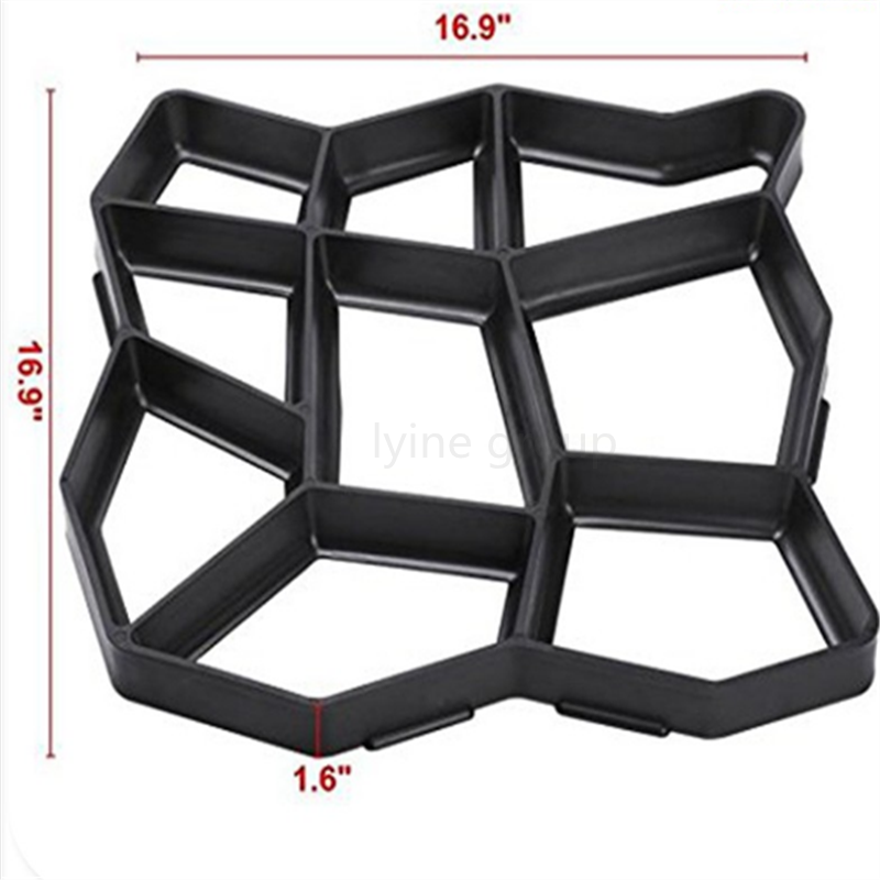wide varieties Diy plastic injection molding high quality custom made concrete plastic mould pavers