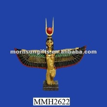 Isis goddess of magic and life resin ancient egyptian