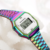 Hot Sales Dazzle Colorful Digital Watches for Women Rainbow Colors Luxury Tornasol Watch with brand logo Reloj de mujer