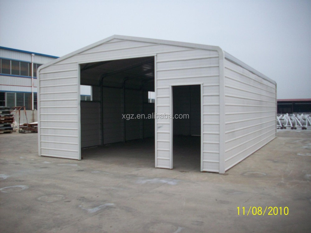 Portable and low cost Steel Structure Garage for car parking
