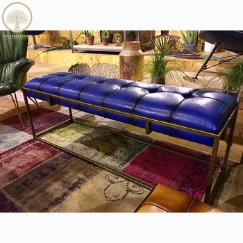Wholesale Ottoman Bench Furniture Storage Bench Ottoman Tufted