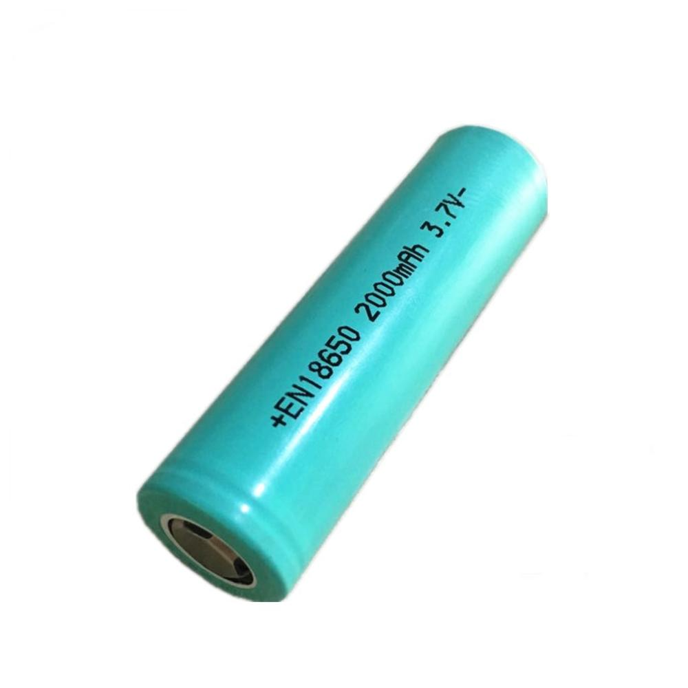 High quality 18650 rechargeable lithium <strong>battery</strong> 3.7V 2000mAh cell and <strong>battery</strong> pack for LED light