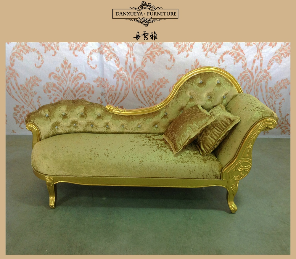 louis chaise xvi gilt c style french lounge antique