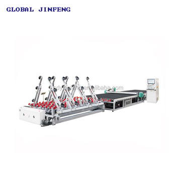 CNC Automatic Glass Cutting Machine Line with Loading Breakout