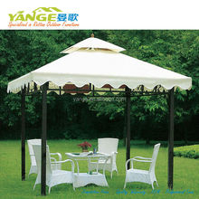 outdoor wrought iron pop up gazebo