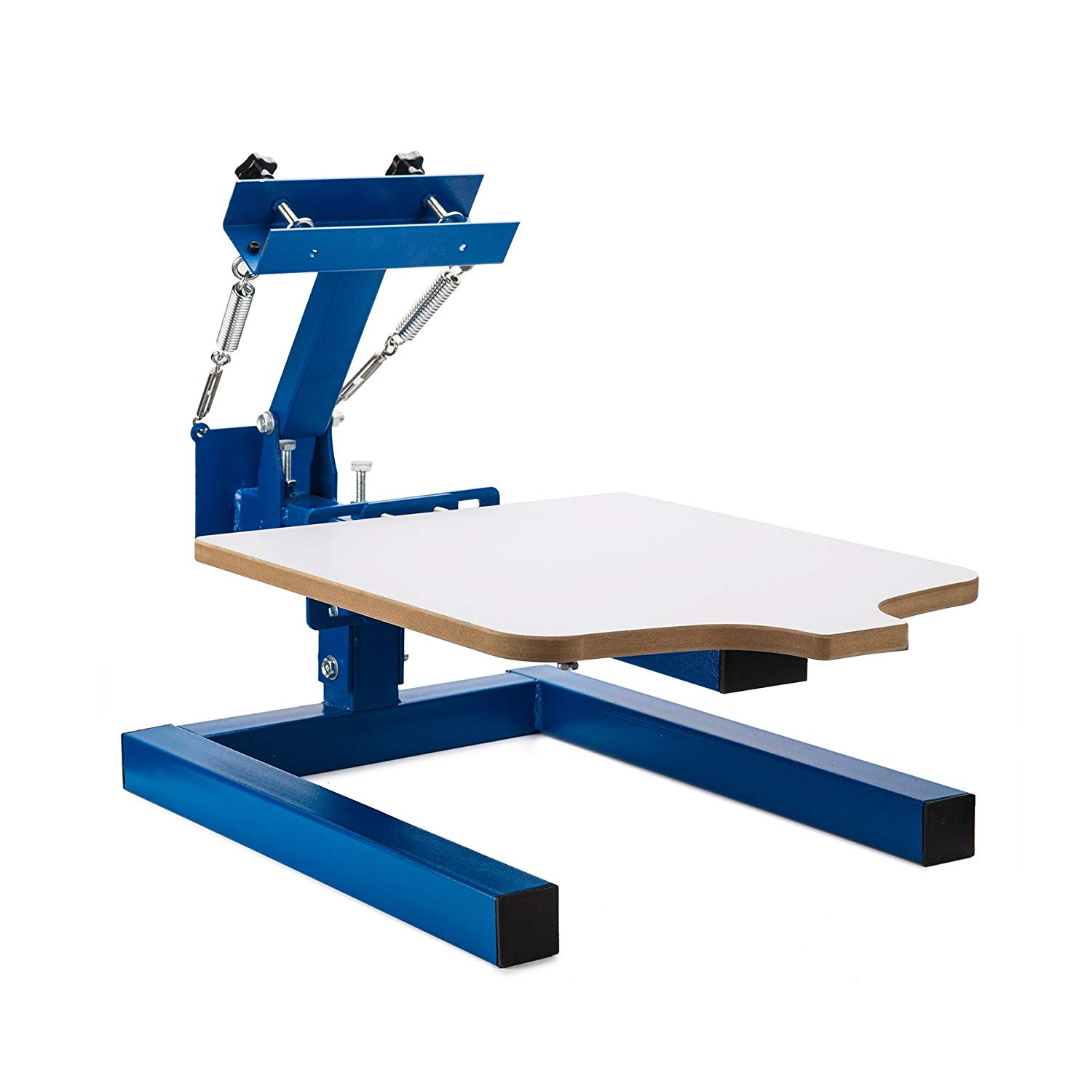 CO-Z Screen Printing Machine Silk Screen Printing Machine Screen Printing Press Removable Pallet Special Design (1 Color 1 Station)