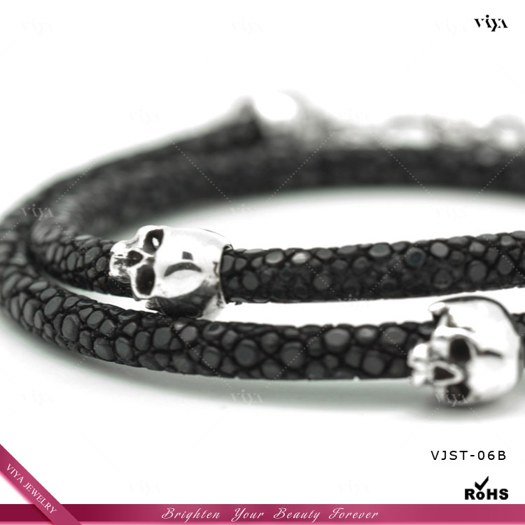 2017 New Arrival Thailand Stingray Bracelet Genuine Men S With 925 Sterling Silver Magnetic