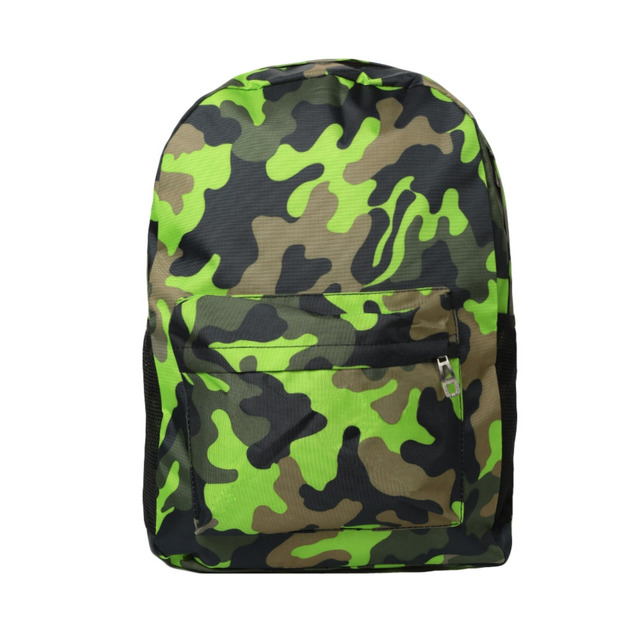 Men Women Camouflage Printed Backpack Laptop Bag Casual School Bag Unisex Hiking Travel Bag