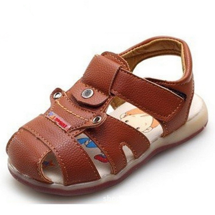 Get Quotations · 2015 New Baby Boys Leather Sandals Summer Babies Children  Top Quality Solid Shoes Brand Infatile Kids c045ec917